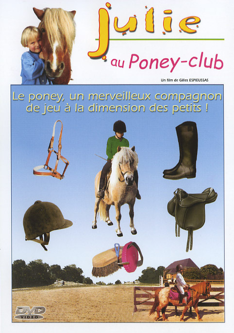 JULIE AU PONEY CLUB - DVD