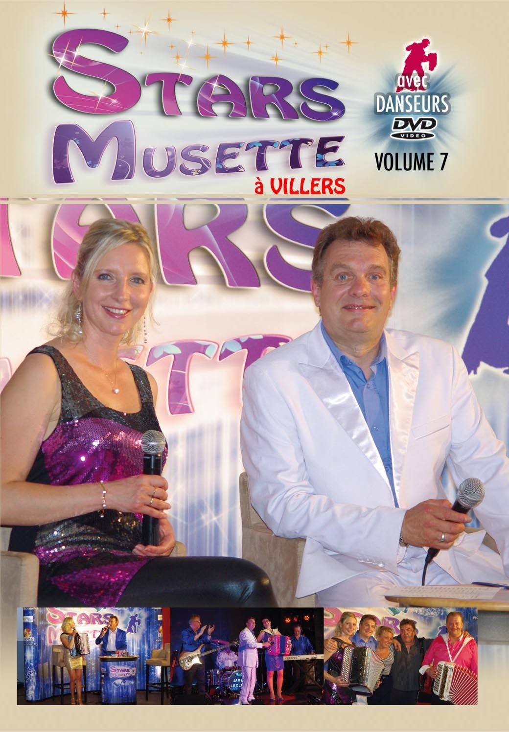 STARS MUSETTE - VOLUME 7 - DVD