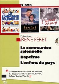 COFFRET RENE FERET - 3 DVD COMMUNION SOLENNELLE - BAPTEME - ENFANT DU PAYS