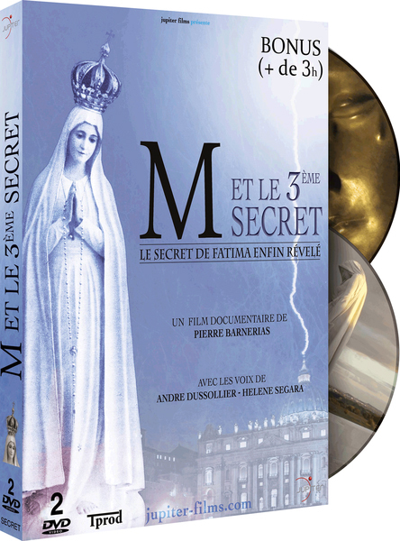 M ET LE 3EME SECRET / COFFRET 2 DVD