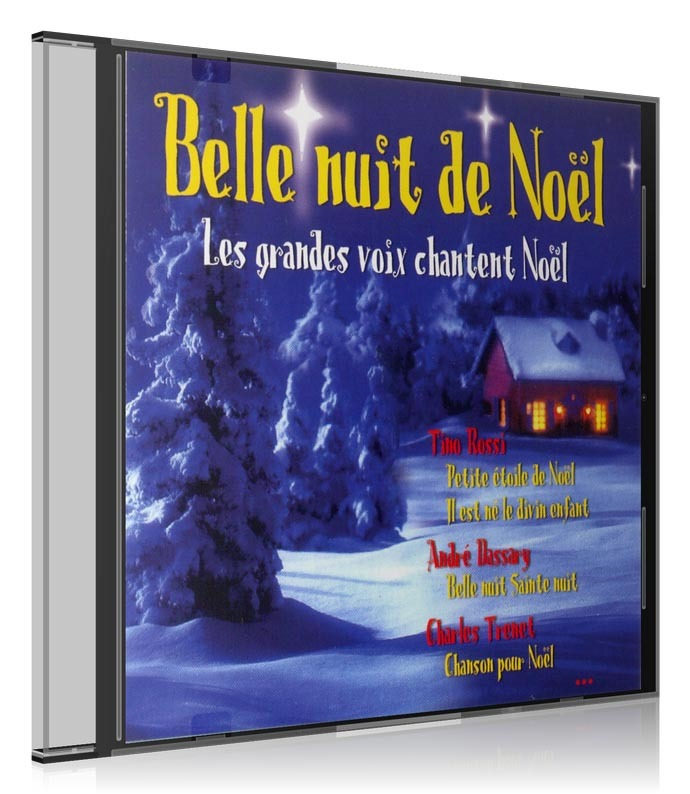 BELLE NUIT DE NOEL - CD-