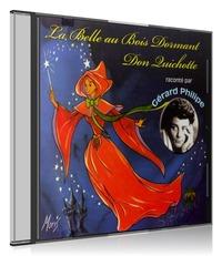 LA BELLE AU BOIS DORMANT - CD  DON QUICHOTTE - GERARD PHILIPE