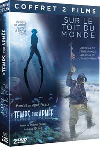 LE TEMPS D'UNE APNEE / SUR LE TOIT DU MONDE - COFFRET 2 DVD