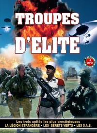 COFFRET TROUPES D'ELITE 3 DVD
