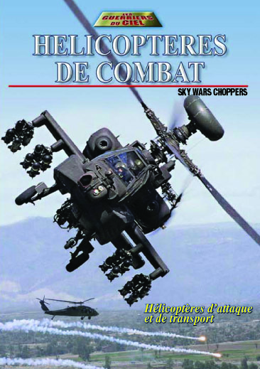 HELICOPTERES DE COMBAT - DVD  SKYWARS CHOPPERS