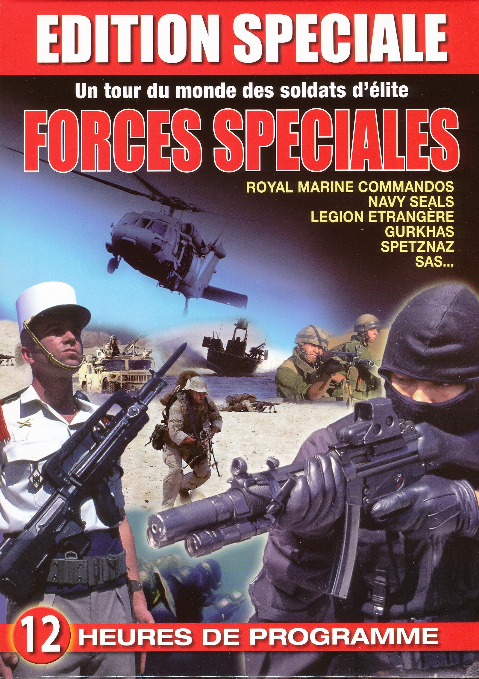 COFFRET 12 DVD FORCES SPECIAL.