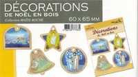 DECORATIONS DE NOEL EN BOIS - COLLECTION MAITE ROCHE
