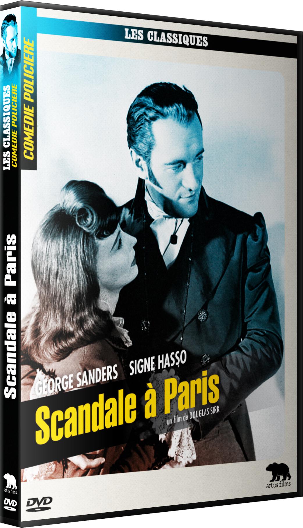 SCANDALE A PARIS - DVD
