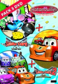 RATANOUILLES ET LITTLE CAR - 3 DVD