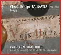 CLAUDE-BENIGNE BALBASTRE : NOELS