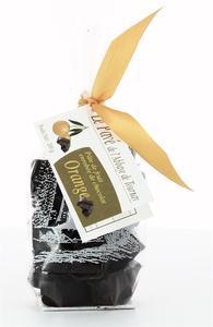 PATE DE FRUIT ENROBEE DE CHOCOLAT, SACHET 200 G ORANGE  NDSP