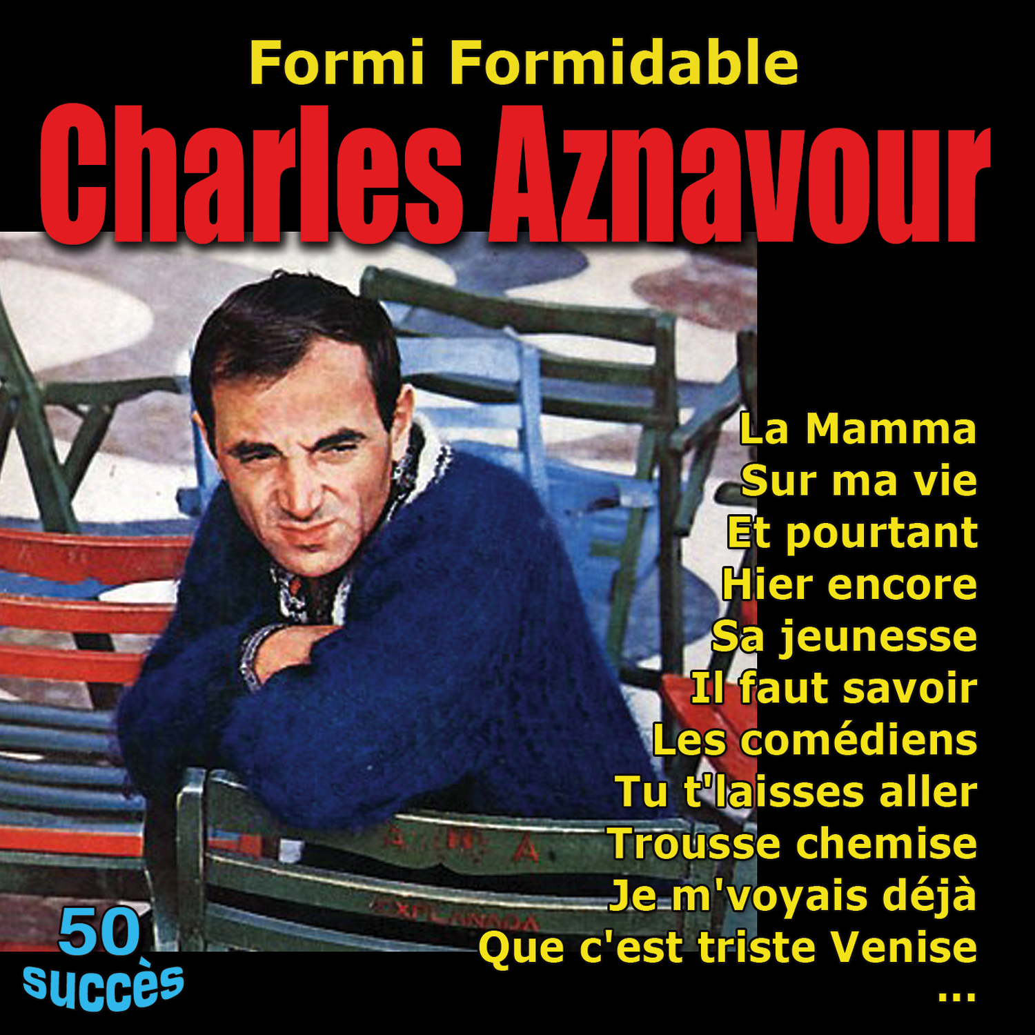 FORMIDABLE CHARLES AZNAVOUR - 50 SUCCES -  2 CD