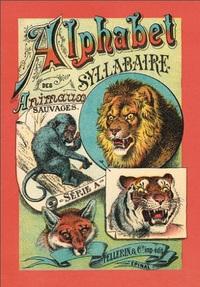 ALPHABET SYLLABAIRE ANIMAUX SAUVAGES