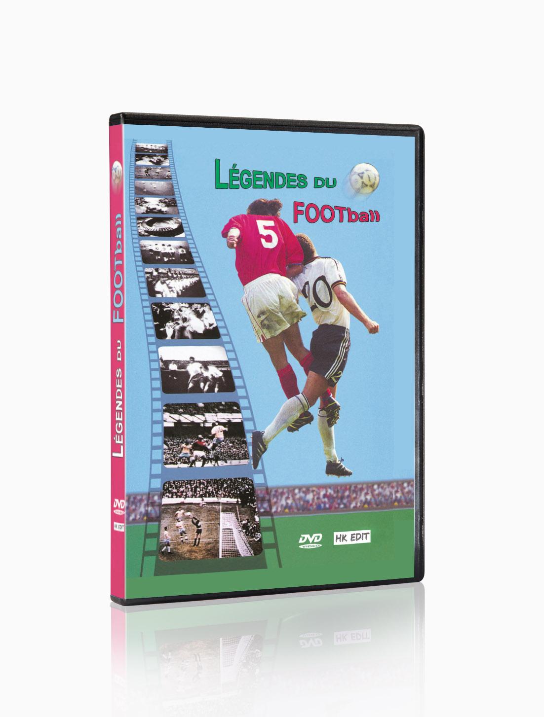 LEGENDES DU FOOTBALL - DVD