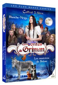 LES CONTES DE GRIMM COFFRET 2 DVD - BLANCHE-NEIGE + LES MUSICIENS DE BREME
