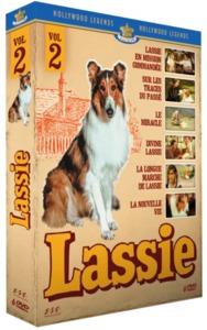 LASSIE - LES LONGS METRAGES PARTIE 2 COFFRET 6 DVD
