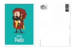 PACK 20 CARTES POSTALES MARCO POLO