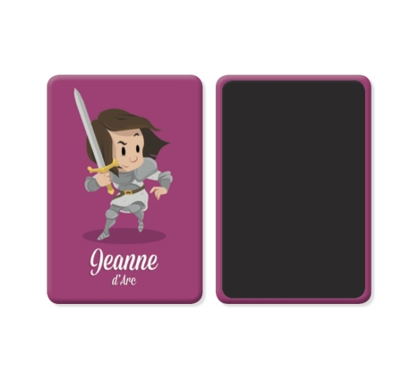 PACK 15 MAGNETS JEANNE D'ARC