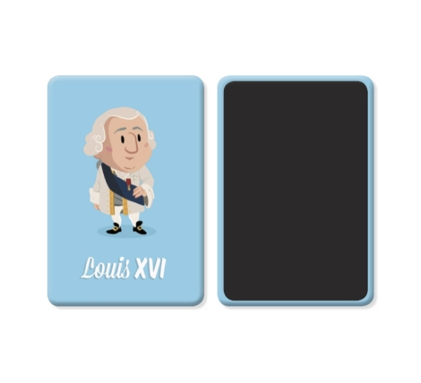 PACK 15 MAGNETS LOUIS XVI