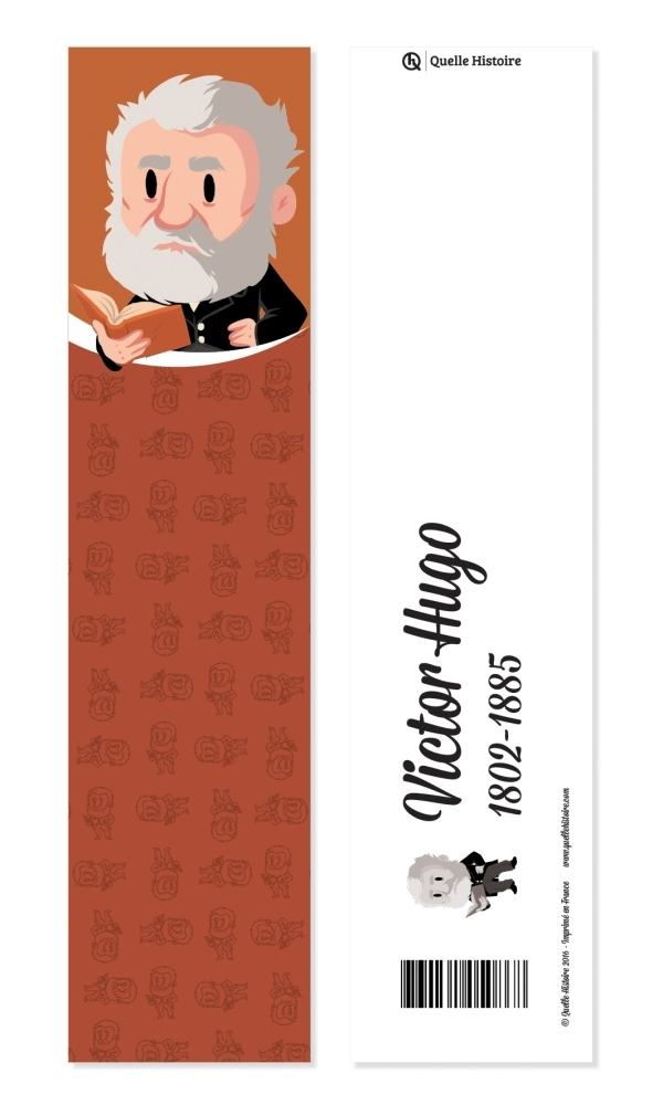 PACK 20 MARQUE PAGES VICTOR HUGO
