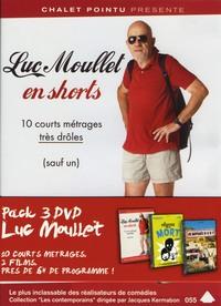 COFFRET LUC MOULLET - 3 DVD