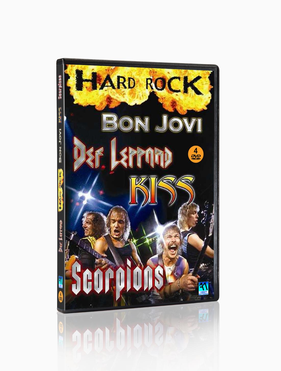 HARD ROCK - 4 DVD