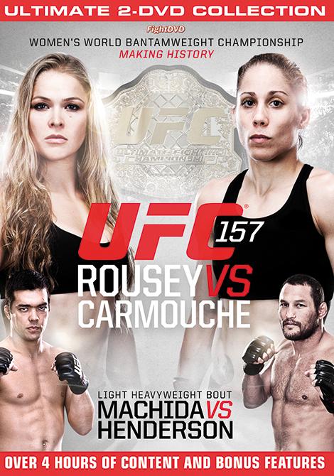 UFC -  157: ROUSEY VS CARMOUCHE - 2 DVD