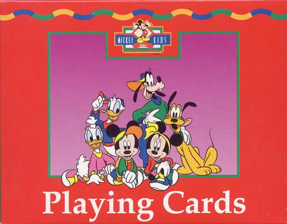 MICKEY FOR KIDS - PLAYING CARDS