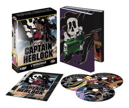 CAPTAIN HERLOCK - THE ENDLESS ODYSSEY INTEGRALE - DVD