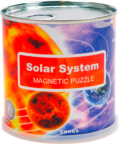 DISPLAY PUZZLE MAGNETIQUE SOLAR SYSTEM 100 PIECES