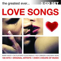 100 HITS - LOVE SONGS - 5 CD