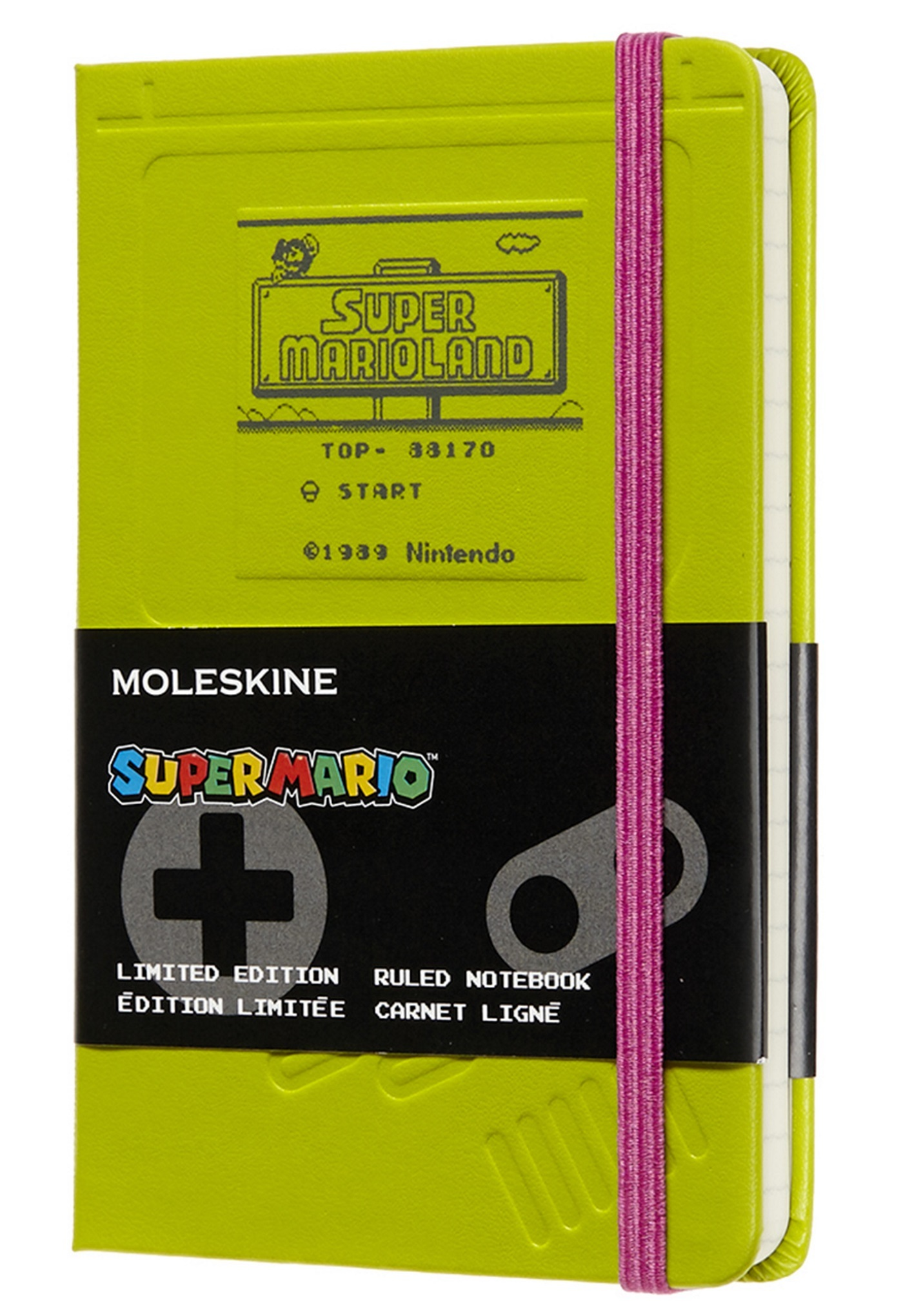 SUPER MARIO CARNET POCHE LIGNE GAME BOY