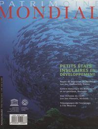 PETITS ETATS INSULAIRES EN DEVELOPPEMENT-PATRIMOINE MONDIAL N 66