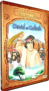 DVD LES GRANDS HEROS ET RECITS DE LA BIBLE - DAVID ET GOLIATH