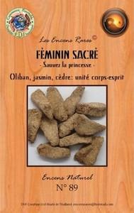 ENCENS RARES FEMININ SACRE - SAUVEZ LA PRINCESSE - UNITE CORPS ET ESPRIT - 25 GR.