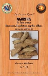 ENCENS RARES : AGARTHA - LA TERRE CREUSE - ASCENSION VIBRATOIRE - 25 GR.