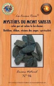 ENCENS RARES : MYSTERES DU MONT SHASTA - CELUI QUI VIT SELON LA LOI DIVINE - SPIRITUALITE - 25 GR.