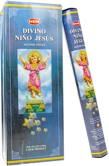 ENCENS HEM DIVINO NINO JESUS 20 GR - LOT DE 6 BOITES