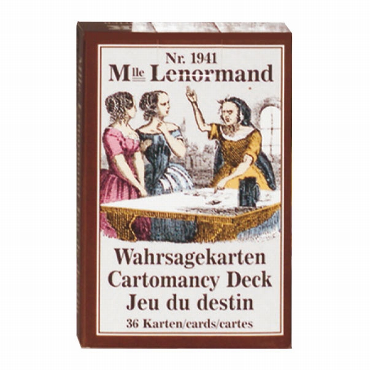 ORACLE LE PETIT MLLE LENORMAND