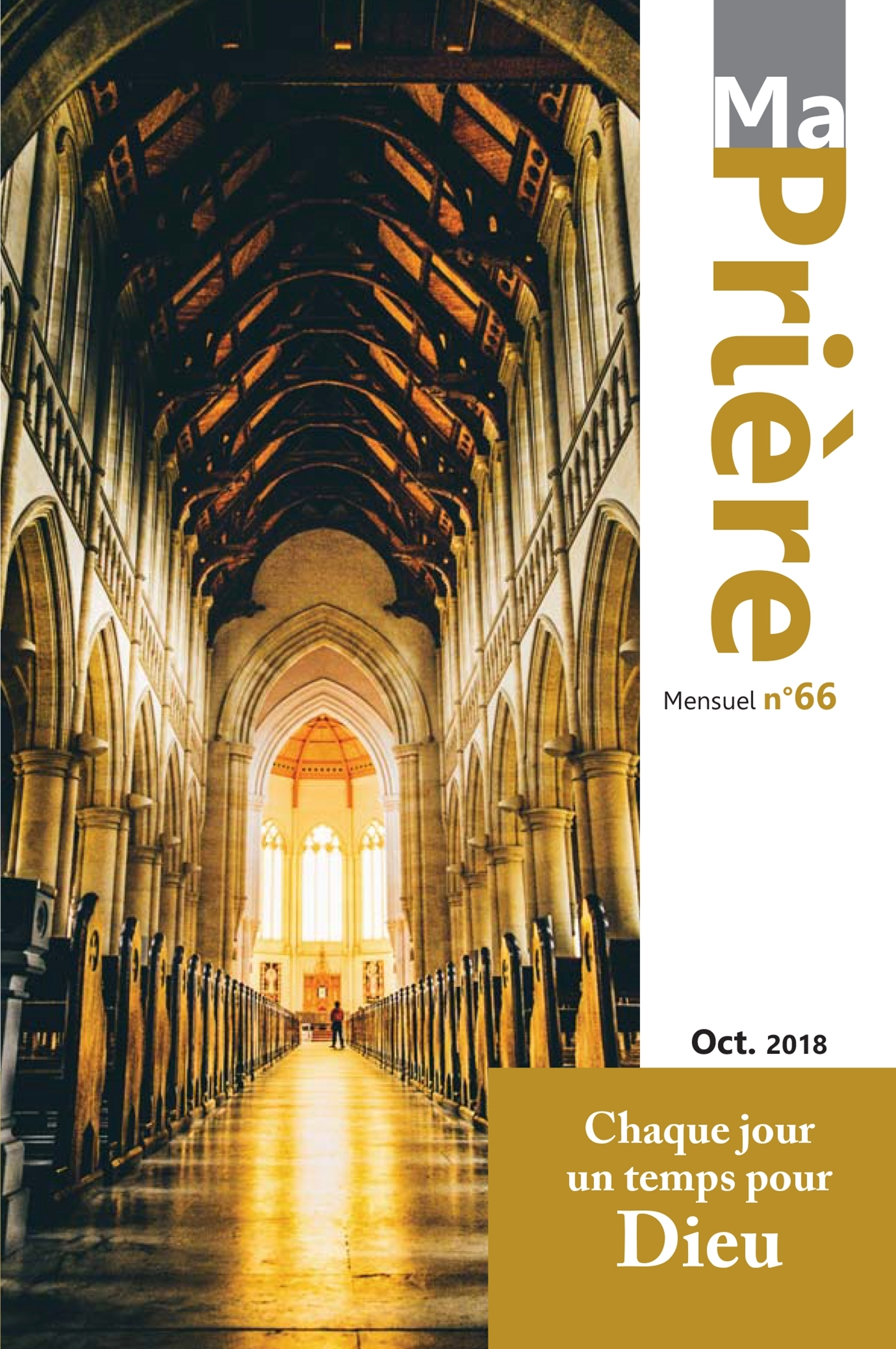 MA PRIERE N  66 OCTOBRE 2018