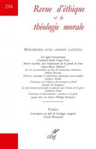 REVUE D'ETHIQUE ET DE THEOLOGIE MORALE 294