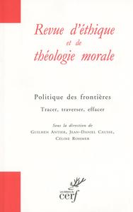 REVUE D'ETHIQUE THEOLOGIE 296