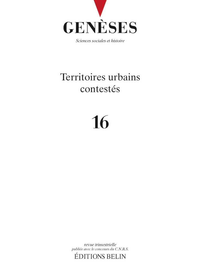 GENESES N16 TERRITOIRES URBAIN