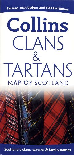 **CLANS TARTANS MAP OF SCOTLAND