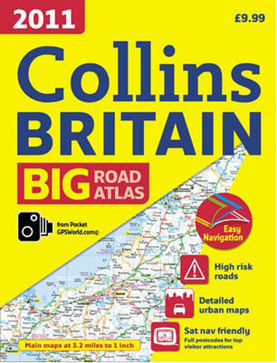 **ROAD ATLAS BRITAIN 2011