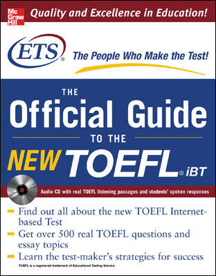 TOEFL IBT - THE OFFICIAL ETS STUDY GUIDE