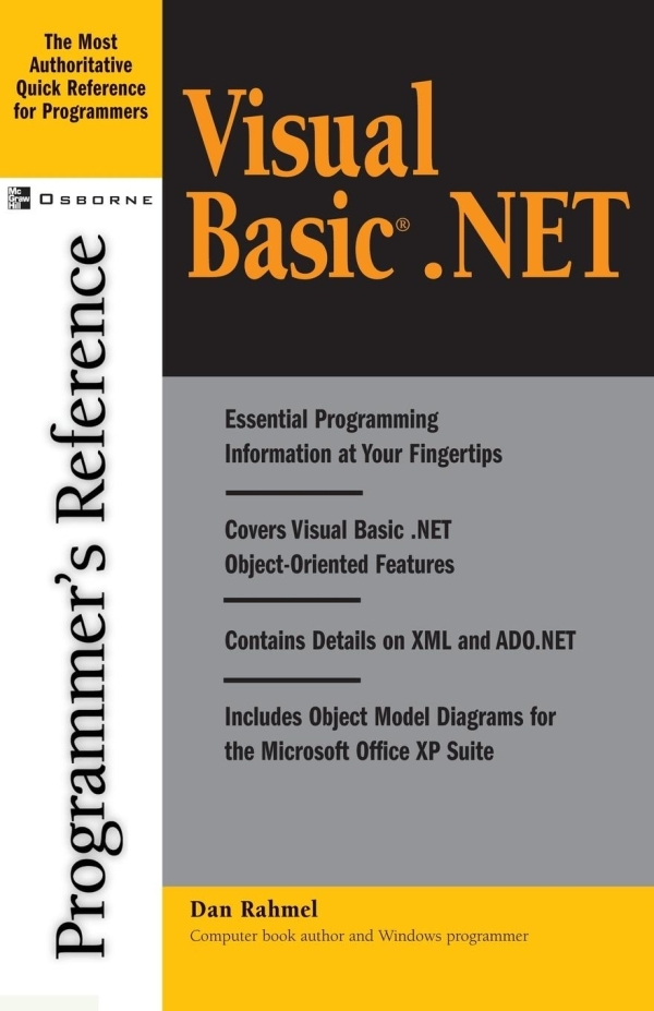 VISUAL BASIC.NET PROGRAMMER'S REFERENCE