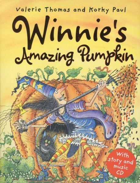 WINNIE'S AMAZING PUMPKIN LIVRE + CD