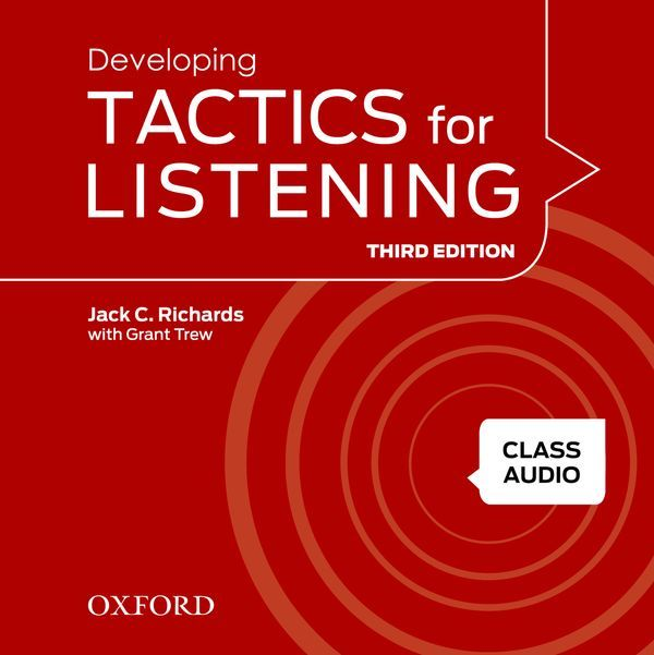TACTICS FOR LISTENING (THIRD EDITION) DEVELOPING: CLASS AUDIO CDS (4)