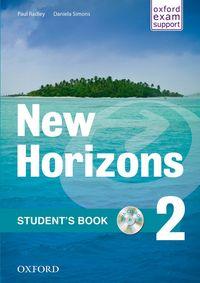 NEW HORIZONS 2: STUDENT'S BOOK AND MULTIROM PACK